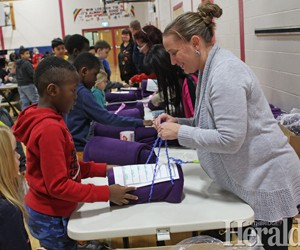 St. Martha students offer blankets and hope to city's homeless
