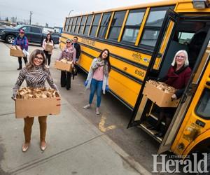 Three-way partnership helping continue student lunch program